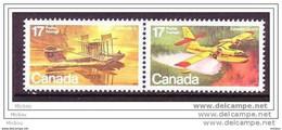 Canada, 1979, #844, Avion, Hydravion, Plane, Seaplane - Aerei