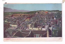 POMPEI Panorama Dei Teatri - Pompei