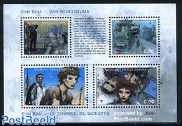 Bosnia Herzegovina 2003 Enki Bilal, Youth Philately S/s, (Mint NH), Art - Comics (except Disney) - Fumetti