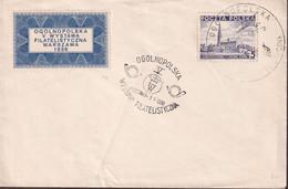 POLAND 1938 Philatelic Exhibition Cover - 1919-1939 Republic