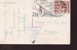 POLAND 1938 ZAKOPANE Postcard - 1919-1939 Republic