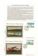 ALDERNEY  F.D.C. AVIONS/AIRCRAFT 19 MAR 1985 - Alderney