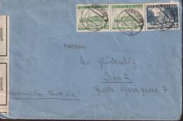 POLAND 1938 Sosnowice Censored Cover To Austria - 1919-1939 Republic
