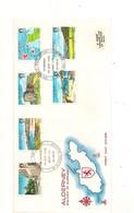 ALDERNEY  F.D.C. 14 JUNE 1983  VUES/VIEWS - Alderney