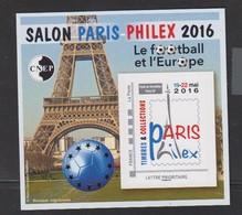 CNEP-2016-N°72** PARIS-PHILEX .Salon Philathélique De PARIS - CNEP