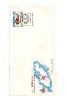 ALDERNEY  F.D.C. 13 AVRIL 1985  AVIONS/AIRCRAFT - Alderney