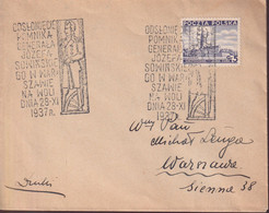 POLAND 1937 Special Cancel - 1919-1939 Republic