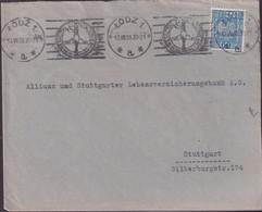 POLAND 1936 Katowice Roller Cancel - 1919-1939 Republic