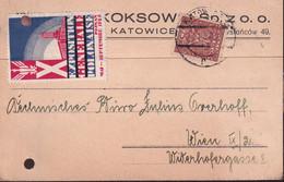 POLAND 1929 Katowice Exhibition Postcard - 1919-1939 Republic