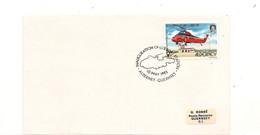 ALDERNEY  F.D.C.INAUGURATION DE LA STATION DE BATEAUX DE SAUVETAGE 10 MAI 1985 - Alderney