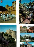 MONACO /  Lot De 81 Cartes Postales Modernes écrites - 5 - 99 Postales
