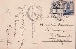 POLAND 1929 Warsaw Exposition Special Cancel Postcard - 1919-1939 Republic