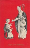 AK - Gruss Vom Nikolaus - Gaben Für Die Braven Kinder - Saint-Nicolas