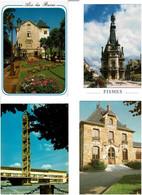 HÔTELS DE VILLE - MAIRIES /  Lot De 79 Cartes Postales Modernes écrites - 5 - 99 Postkaarten