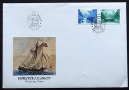 Norway 1998 NORDEN   Minr.1280-81 Ships (  Lot 375 ) - FDC