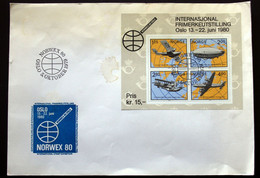 Norway 1979     MiNr.799-802   BLOCK 2   FDC     (lot 2020 ) - FDC
