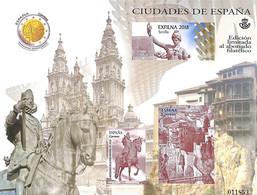 Spain 2018 Present Of The Post, Limited, No Postal Value, (Mint NH) - 1931-Aujourd'hui: II. République - ....Juan Carlos I