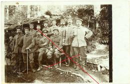 Carte Photo.2.Landwehr Division .Vogesen Elsass  Soldats Allemande. Guerre 14-18.WWI - 1914-18