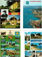 85 /  VENDEE / Lot 725 C.P.M. écrites - 500 Cartoline Min.