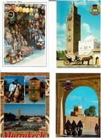 MAROC / Lot 780 C.P.M. écrites - 500 Postkaarten Min.