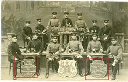 Carte Photo.Regimentskarte Strassburg Regiment Nr.126.soldats Allemande. Guerre 14-18.WWI - 1914-18