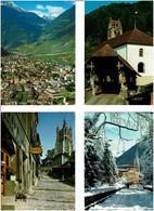 SUISSE / 2000 C.P.M. écrites / Grands Formats - 500 Cartoline Min.