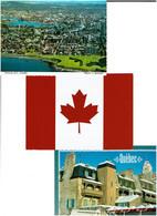 CANADA / Lot 750 C.P.M. écrites - 500 Postkaarten Min.