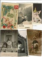 FANTAISIES /  DROUILLE / Lot 980 C.P.M. écrites - 500 Cartoline Min.