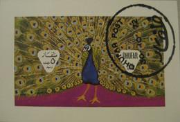 DHUFAR 1972, Fauna, Peacock, Used - Francobolli