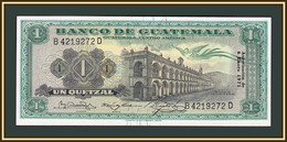 Guatemala 1 Quetzal 1971 P-52 (52h) UNC - Guatemala