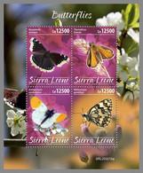 SIERRA LEONE 2020 MNH Butterflies Schmetterlinge Papillons M/S - OFFICIAL ISSUE - DHQ2037 - Butterflies