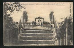 CPA Tagnon, Le Cimetiere Des Soldats Francais, Tues En Octobre 1918 - Sin Clasificación