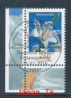 GERMANY  Mi.Nr. 3207 Freimarke- Blumen - ESST BERLIN -Eckrand Unten Links- Used - [7] Repubblica Federale