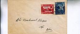 ADEN  SEIYUN 1946  VICTORY SET  On COVER - Aden (1854-1963)