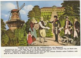 Historische Mühle Potsdam - Sanssouci - Friedrich Der Große Und Der Mühlenbesitzer Von Sanssouci - Mulini A Vento