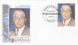 Polynésie FDC 2008 - Yvert  834 Pouvanaa - FDC