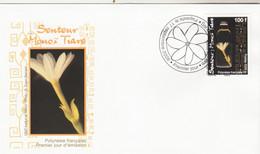 Polynésie FDC 2008 - Yvert  843 Senteur Monoï Flore - FDC