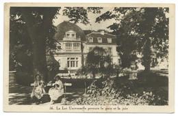 CPA CHATEAU / LA LOI UNIVERSELLE PROCURE LA PAIX ET LA JOIE 1938 - Monumenti
