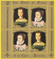 Bloc Feuillet Neuf** Rare  Les Rois De France Et La Cour Royale - Marie De Médicis, Jeune Fille Jeanne D'Albret - Tchad - Chad (1960-...)