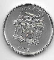 *jamaica 20 Cents 1973 Km 55 - Jamaica