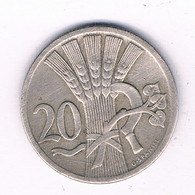 20 HALLER  1927  TSJECHOSLOWAKIJE /7489/ - Czechoslovakia
