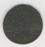 KÖLN 1739: 1/4 Stüber, KM 135.1 - Schön 46 - [ 1] …-1871 : Etats Allemands