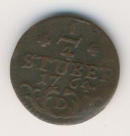 OSTFRIESLAND 1764: 1/4 Stüber, KM 234 - Schön 42 - [ 1] …-1871 : Etats Allemands