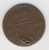 SVERIGE 1750: 1 Öre Silvermynt, KM 616 - Suecia