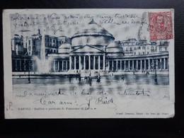 Italy / Napoli, Basilica E Porticato S Frencesco Di Paola / 1904 - Napoli (Napels)