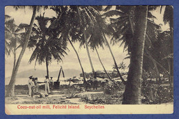 CPA SEYCHELLES - FELICITE ISLAND - COCO-NUT OIL - Seychelles