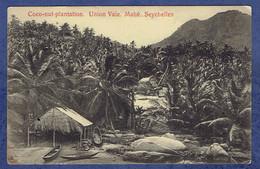 CPA SEYCHELLES - MAHE - COCO-NUT PLANTATION - UNION VALE - Seychelles