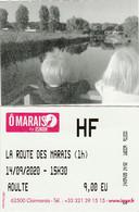 Marais De Clairmarais -  Pas De Calais - Tickets - Vouchers