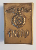 WW2 WWII Nazi Germany Dt.Third Reich Copper Matches Holder NSDAP Rare Allemande 1940's - 1939-45