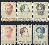 Luxembourg - Luxemburg - Timbres 1939  Série Caritas Dynastie  MNH **  KW 40 - Blocs & Hojas